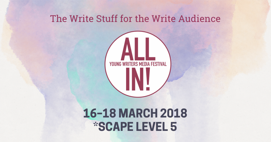 Schedule | All In! Young Writers Festival 2018