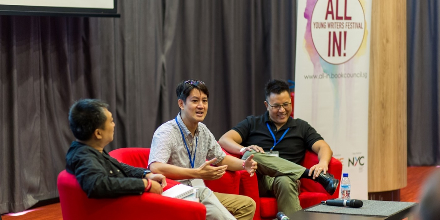 All In! caught multi-awarded director/producers Jason Chan and Christian Lee to talk about the rigors and laurels of the film industry in and around Singapore. (photo by Ben Chia)